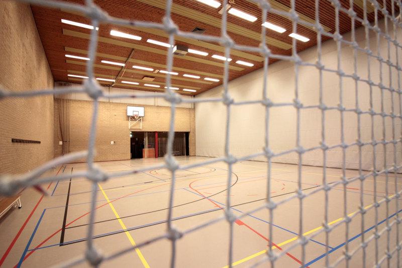 Nieuwe sporthal in nieuwbouwwijk Urk
